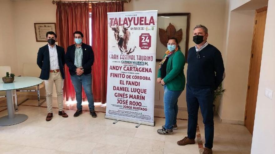 Toros para Andy Cartagena, Marín y Finito de Córdoba