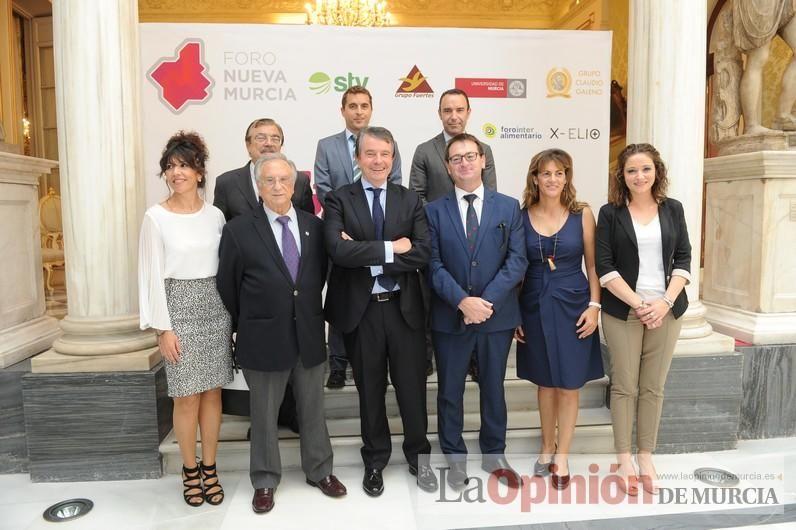 Antonio Catalán, presidente de AC Hoteles, en Foro Nueva Murcia
