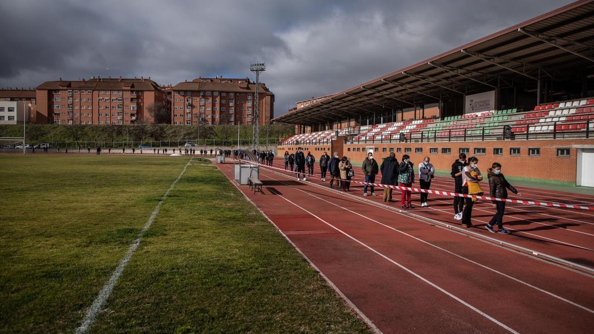 GALERÍA   El cribado de Santa Elena en la Ciudad Deportiva de Zamora, en imágenes