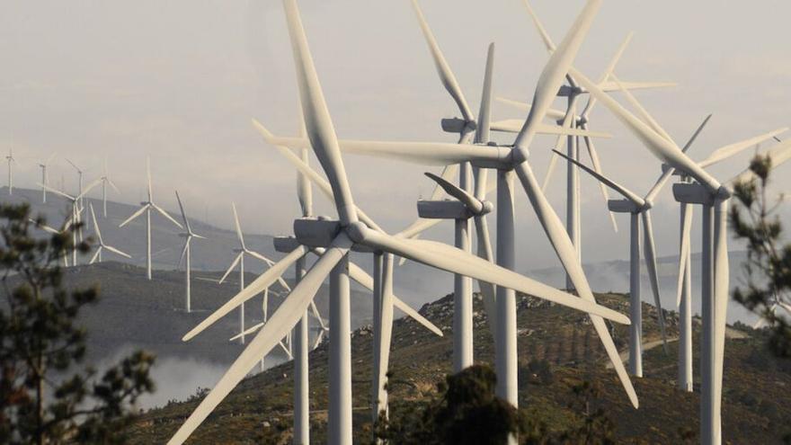 Galicia no tramitará nuevos parques eólicos durante un año y medio