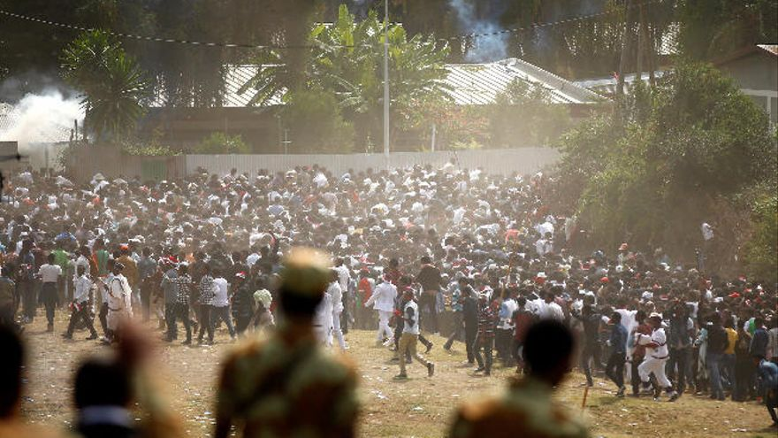 Más de 20 muertos en una estampida en Etiopía tras una carga policial