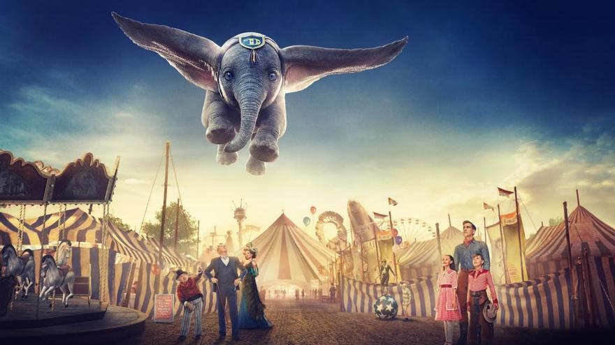 El elefante que sabía volar vuelve de la mano de Tim Burton