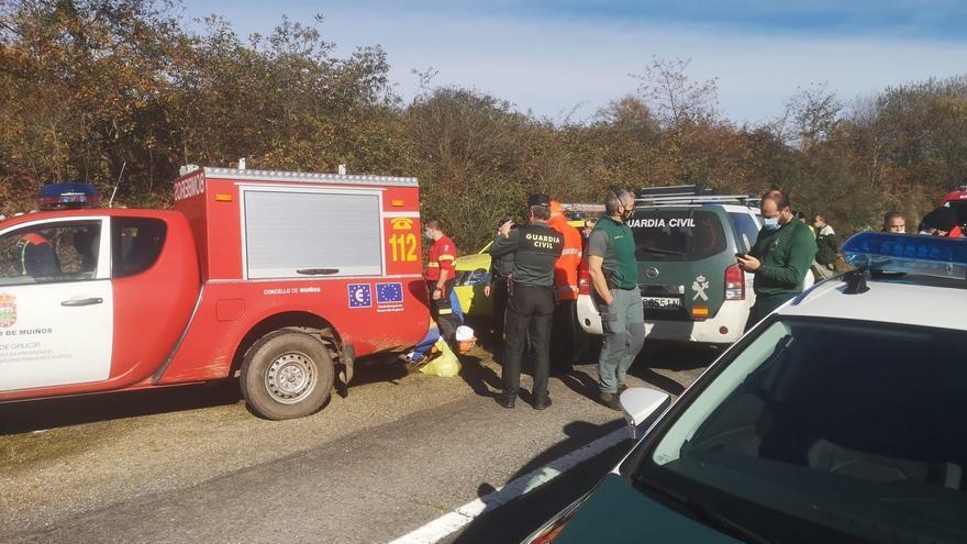 Localizan al nonagenario desaparecido hace tres días a 100 metros de su casa de Ourense
