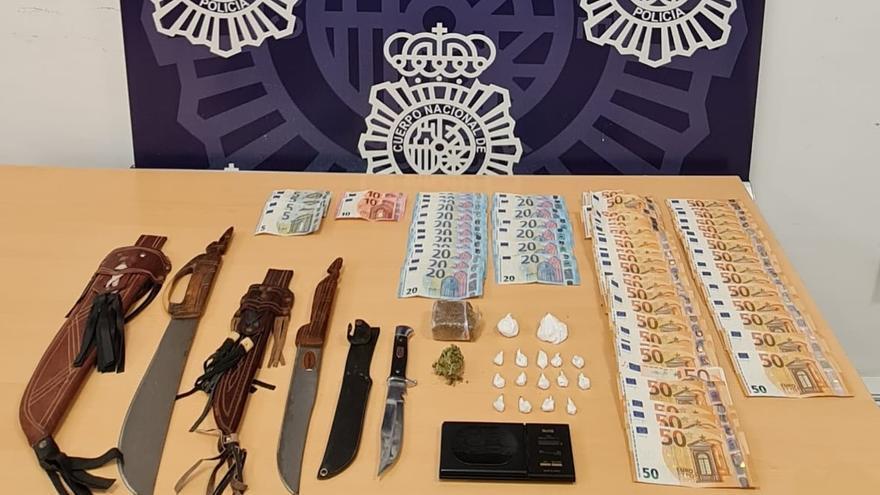 Detenido por distribuir droga en el Centro de Málaga por el sistema conocido como 'telecoca'