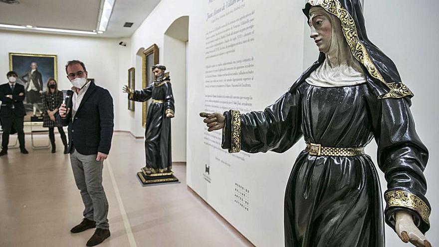 Villabrille y Ron, escultor barroco de Pesoz, llega al Museo de Bellas Artes
