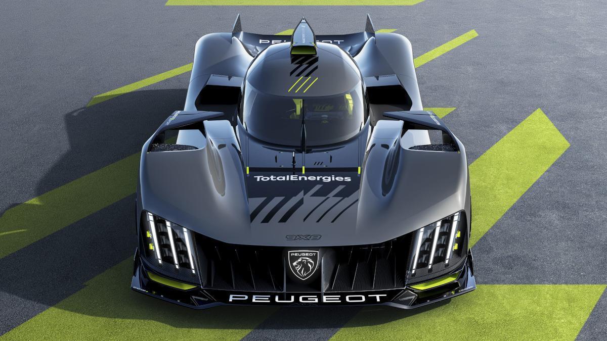 Hypercar 9×8, el arma secreta de Peugeot para Le Mans