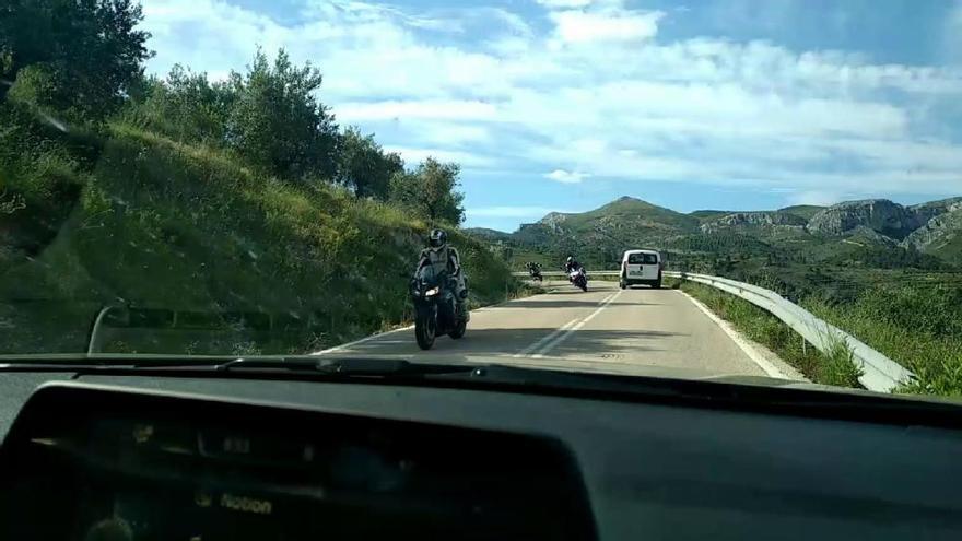 La vigilancia policial en la Carrasqueta desplaza a los motoristas a otras carreteras del interior