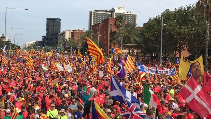 El apoyo a la independencia en Cataluña cae hasta el 44%