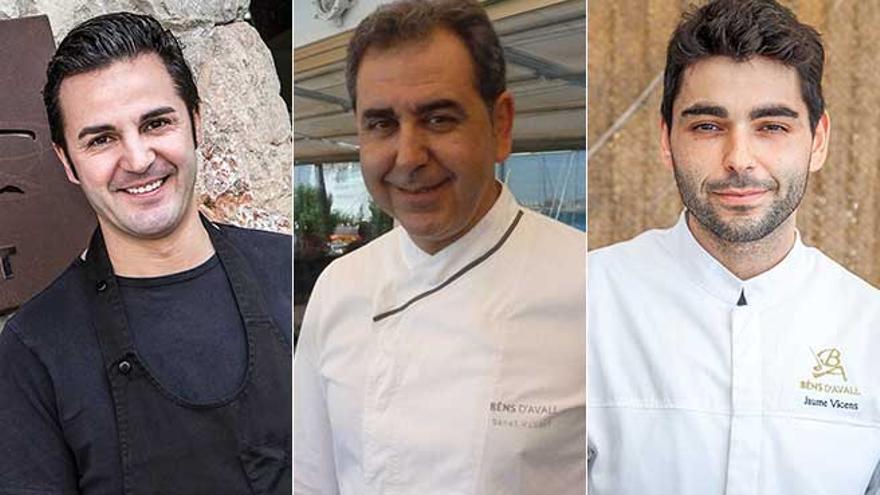 Santi Taura y Benet y Jaume Vicens consiguen su primera estrella Michelin