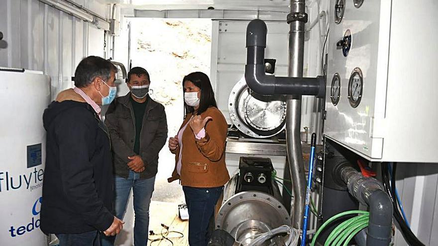El Consorcio trata de paliar los ruidos que produce la planta potabilizadora de Gran Tarajal