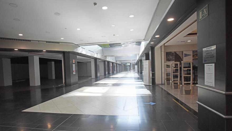 El centro comercial Myrtea certifica su desmantelamiento