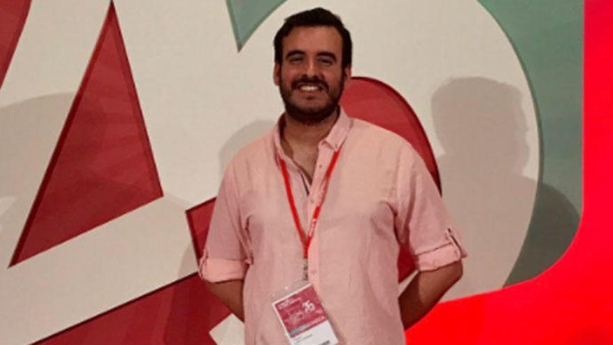 Agustín Cañete, secretario de Organización de Juventudes Socialistas de España