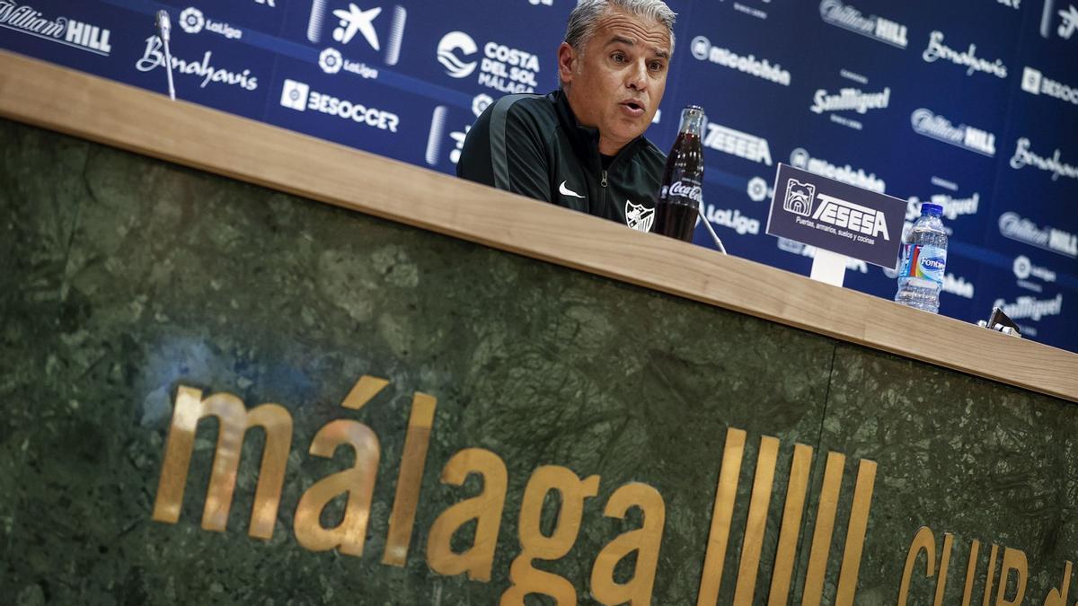 Sergio Pellicer, en rueda de prensa.