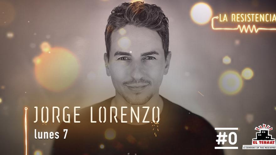 Jorge Lorenzo visita esta noche 'La Resistencia'
