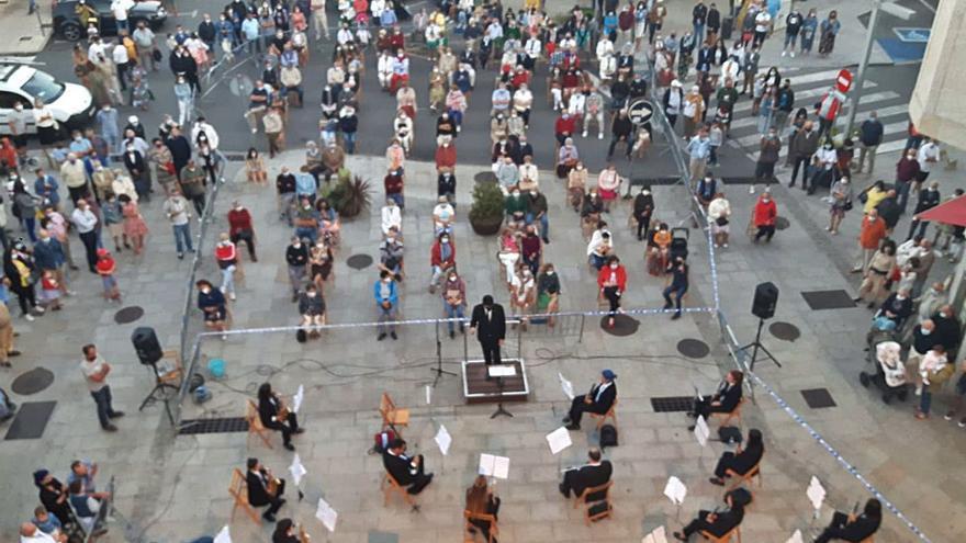 Las restricciones por el Covid-19 suspenden el histórico concierto de Santa Cecilia en Cangas