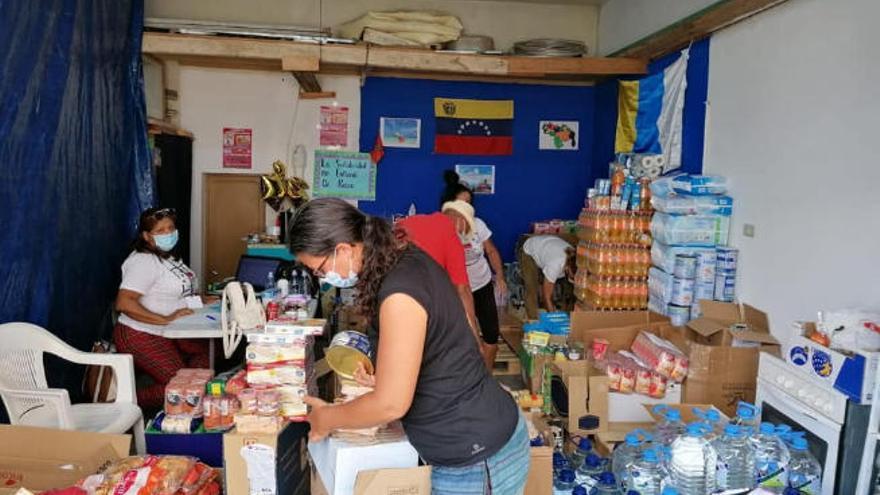 Más de una tonelada de comida para las familias sin recursos de Lanzarote