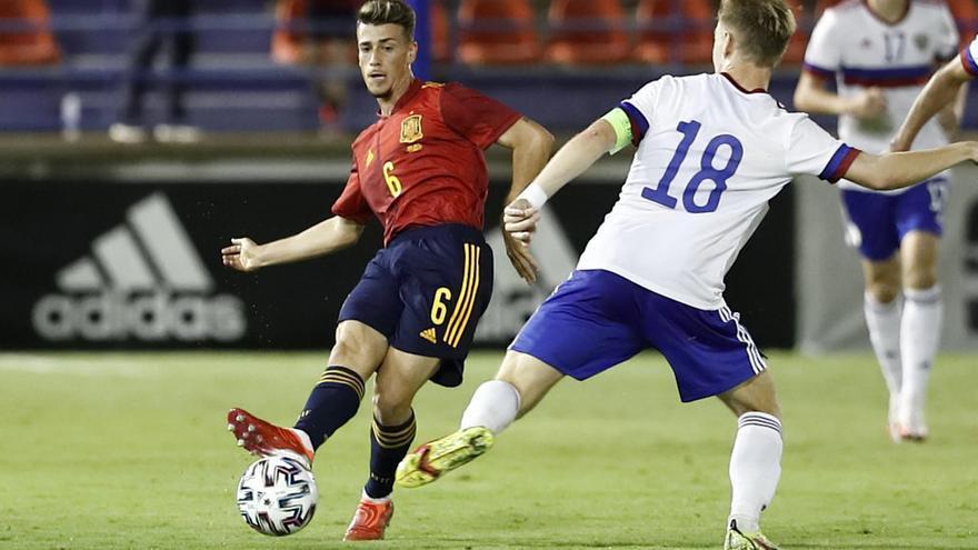 Antonio Blanco, un paso más con la selección de España