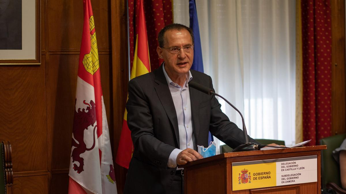 Subdelegado del Gobierno en Zamora, Ángel Blanco