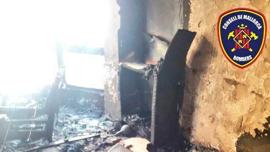 Feuerwehrleute bei Brand in Port d'Andratx verletzt