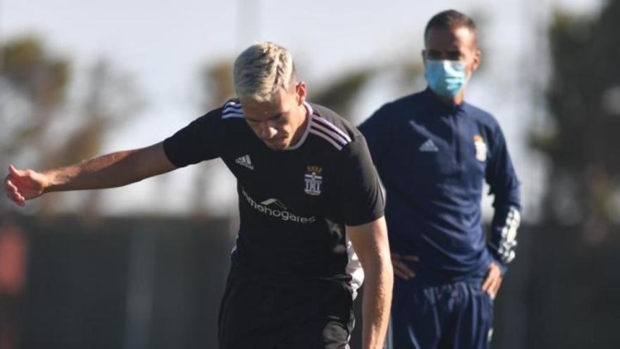 Álex Gallar, en la convocatoria del FC Cartagena