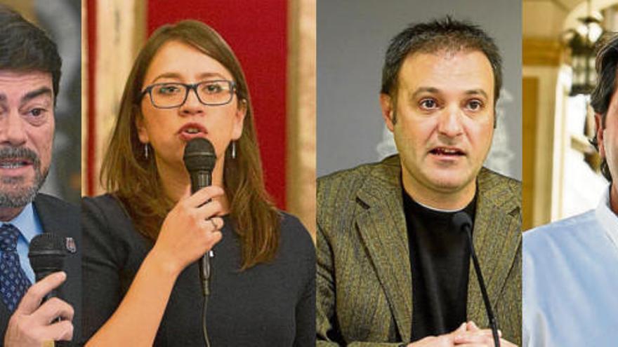 Echávarri encrespa a la oposición y Compromís apela a más diálogo
