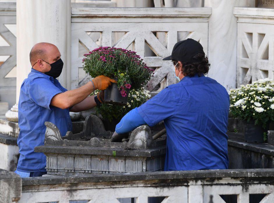 Los cementerios se preparan para Todos los Santos