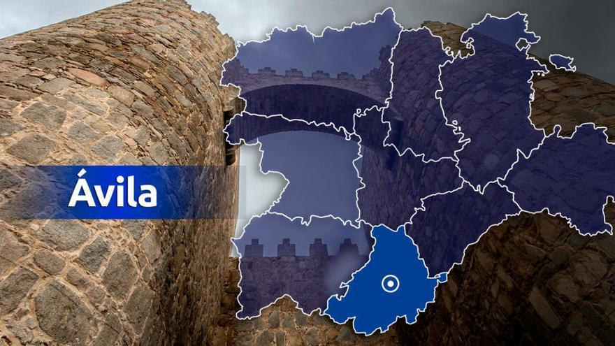 La Guardia Civil trabaja en el rescate del cadáver de un montañero en Ávila