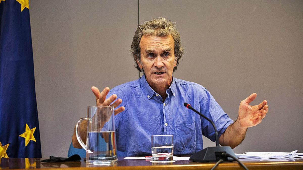 El director del Centro de Coordinación de Alertas y Emergencias Sanitarias, Fernando Simón. | E.P./A.MARTÍNEZ