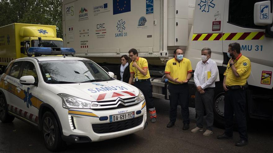 Aragón no colaborará en la creación de un hospital móvil en el Pirineo