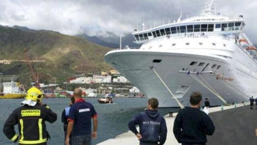 Cinco muertos en La Palma en un simulacro de rescate