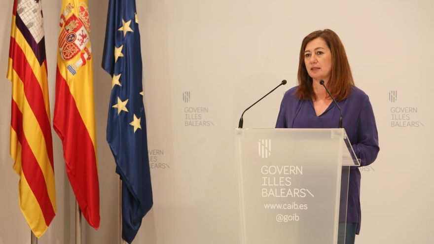 """Ministerpräsidentin Francina Armengol: """"Wir brauchen Europa"""""""