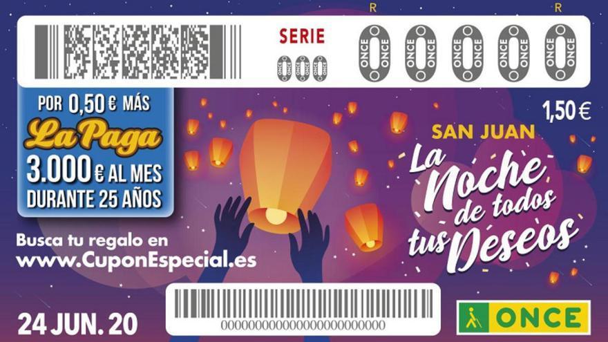 Sorteo Especial de San Juan de la ONCE 2020: resultados y premios