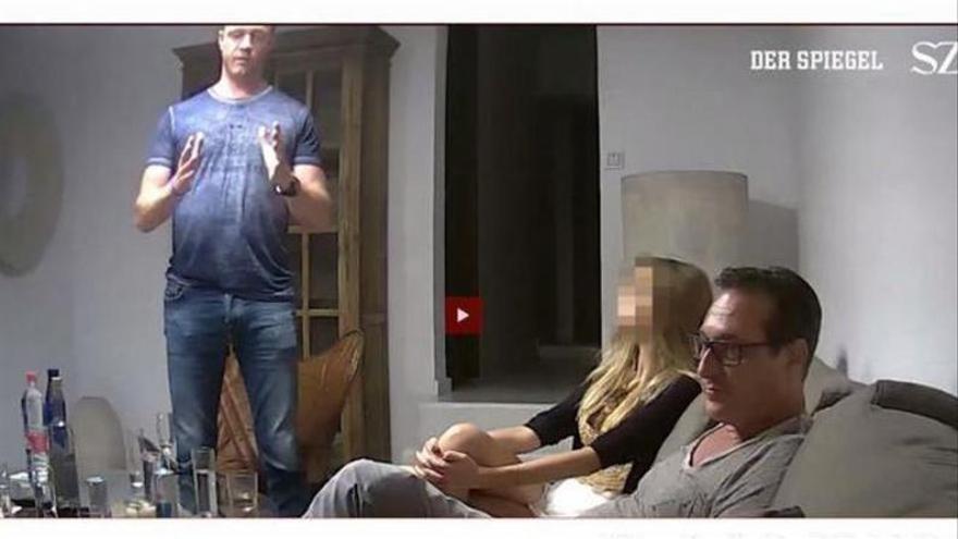 El ultraderechista austriaco investigado por el 'Ibizagate', condenado por cohecho