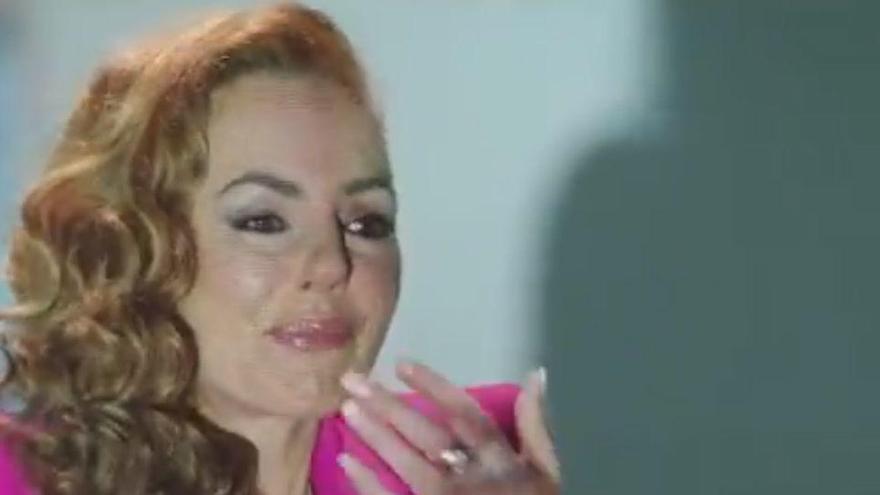 Rocío Carrasco explica la infidelitat d'Antonio David