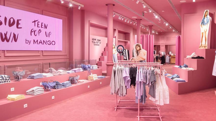 Mango obre a Barcelona la seva primera botiga dedicada exclusivament a la línia 'Teen'