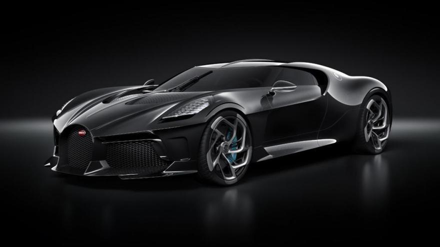 """El Bugatti """"La Voiture Noire"""" es el coche más caro del mundo"""