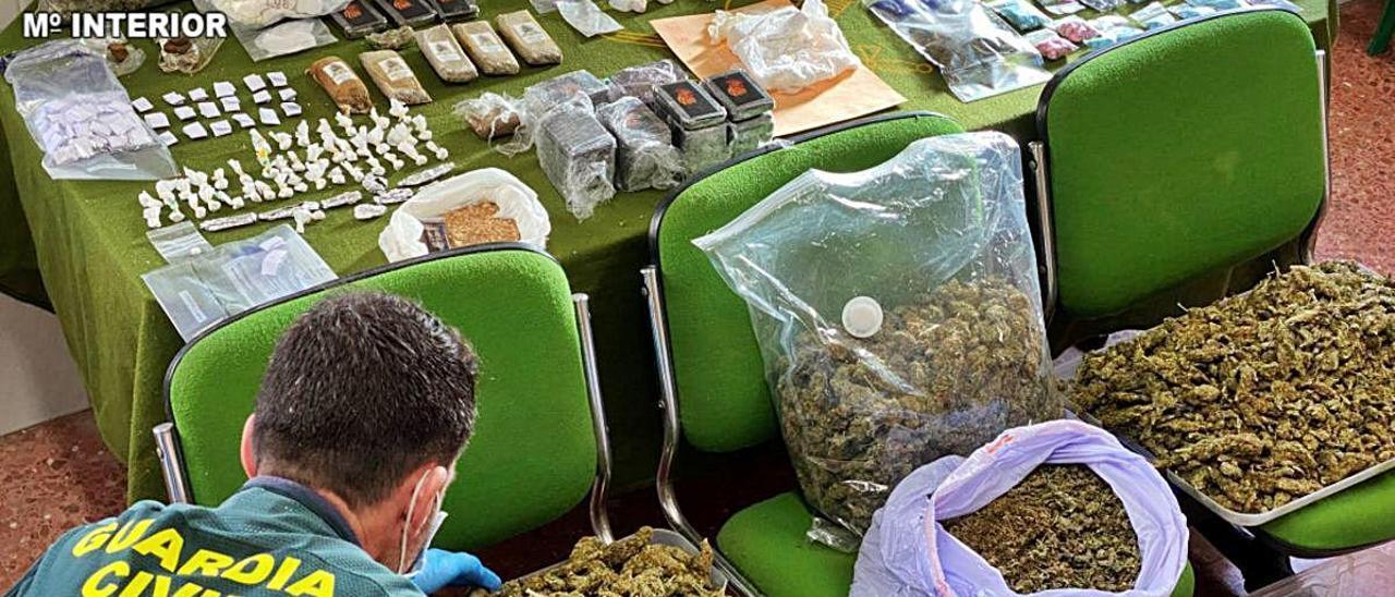 49 detenidos en Valencia, Alicante y Madrid por tráfico de drogas.
