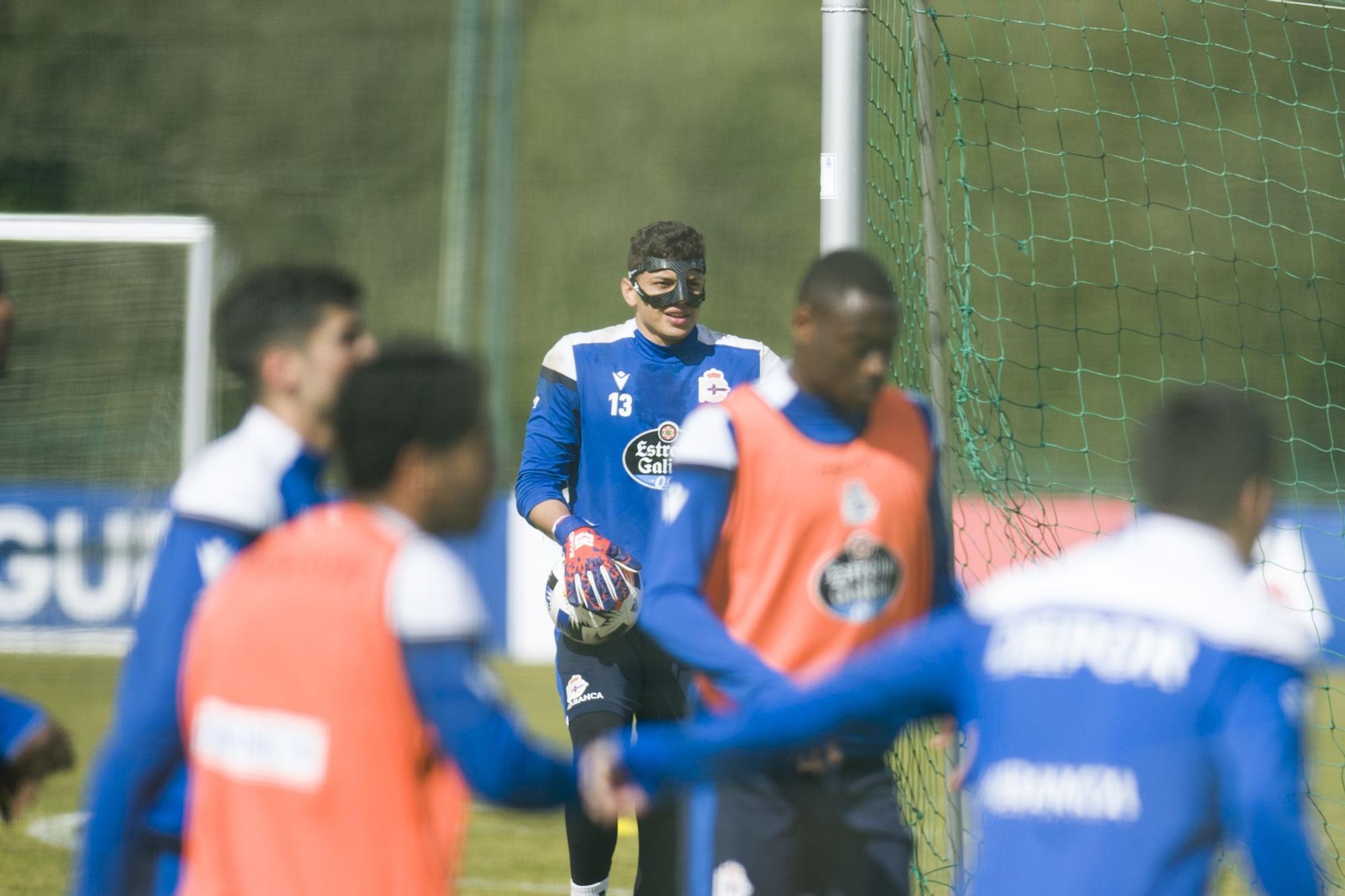 El Dépor prepara el partido contra el Zamora