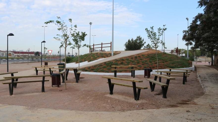 Albal concluye la urbanización del entorno del 'skatepark' Ignacio Echeverría