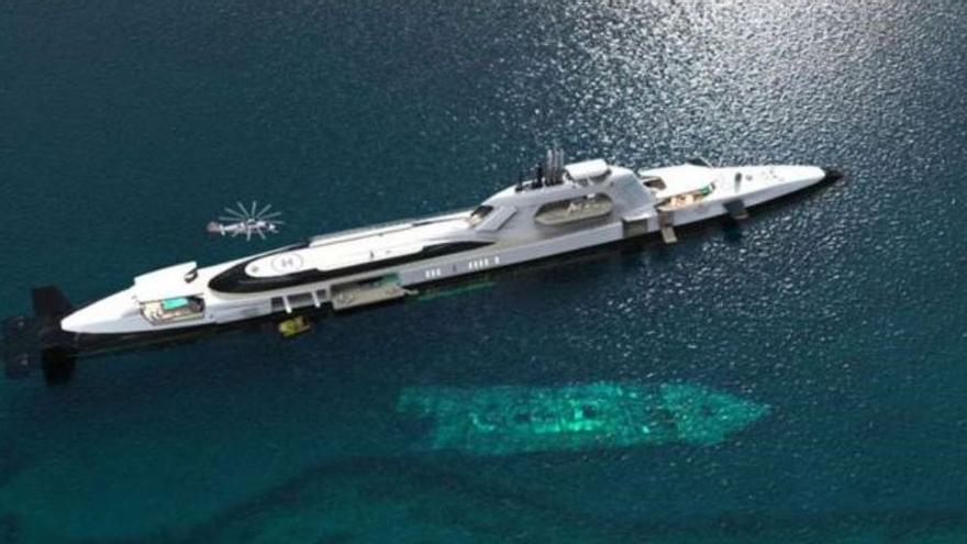 El nuevo yate que se convierte en submarino de 800 millones de euros: el más caro del mundo