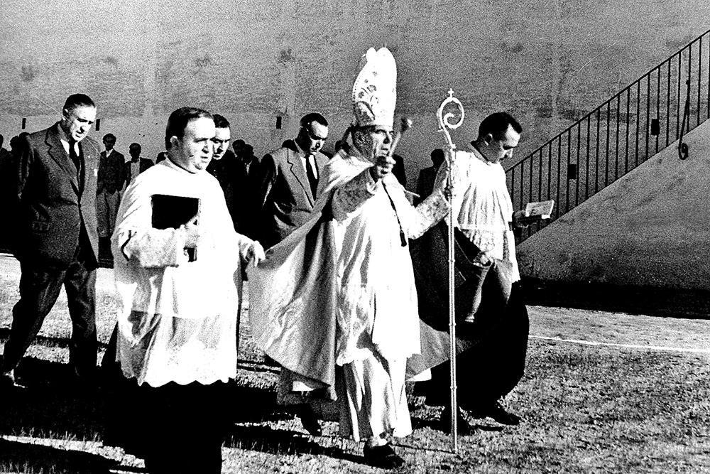 San Eulogio en blanco y negro