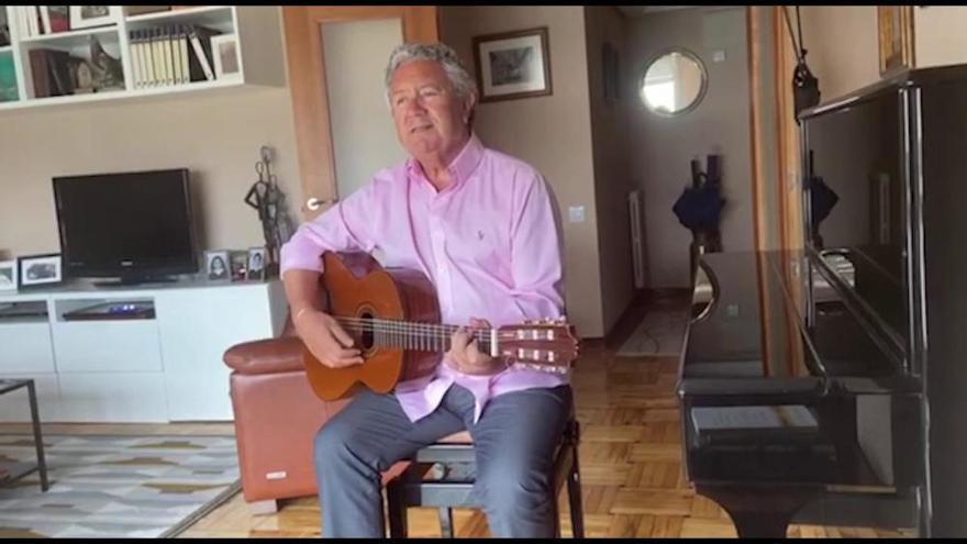 El cantautor candasín Pipo Prendes dedica un tema a María Dolores Pradera