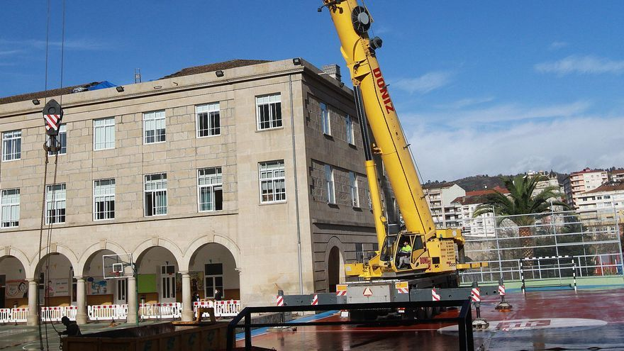 El arquitecto no ve riesgo de más derrumbes en el colegio Salesianos e investiga la causa