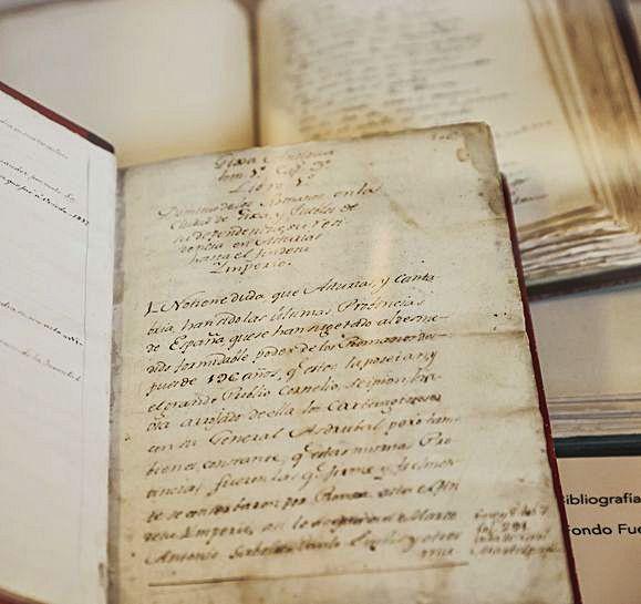 """El manuscrito original de la """"Sinfonía pastoral"""" de Palacio Valdés.  Irma Collín"""