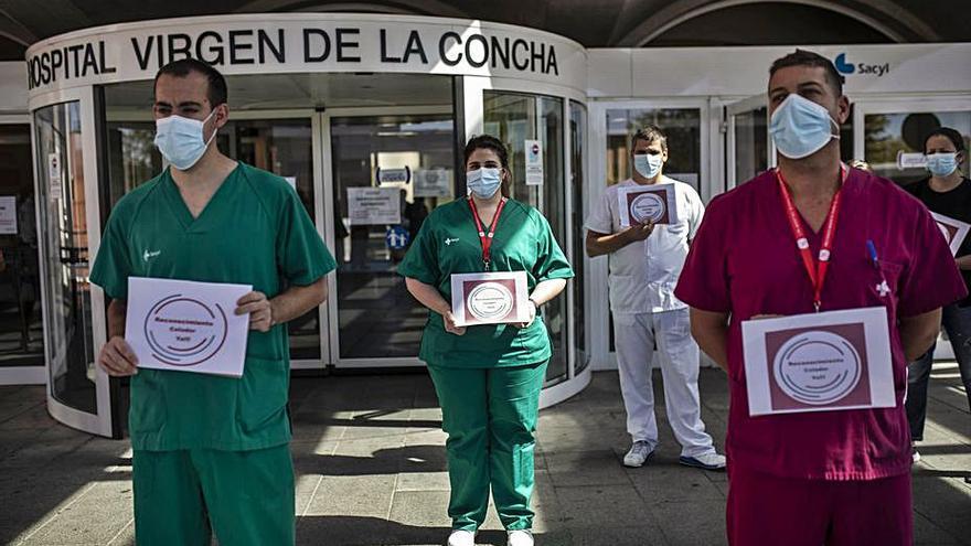 Piden accidente laboral para contagiados del ámbito sanitario, funcionarios o no