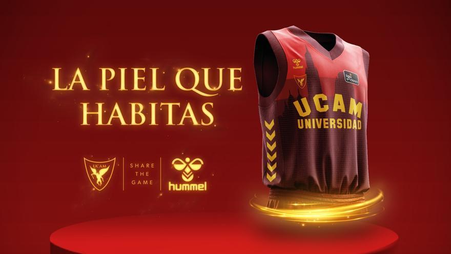 El UCAM presume de la Catedral de Murcia en su nueva camiseta