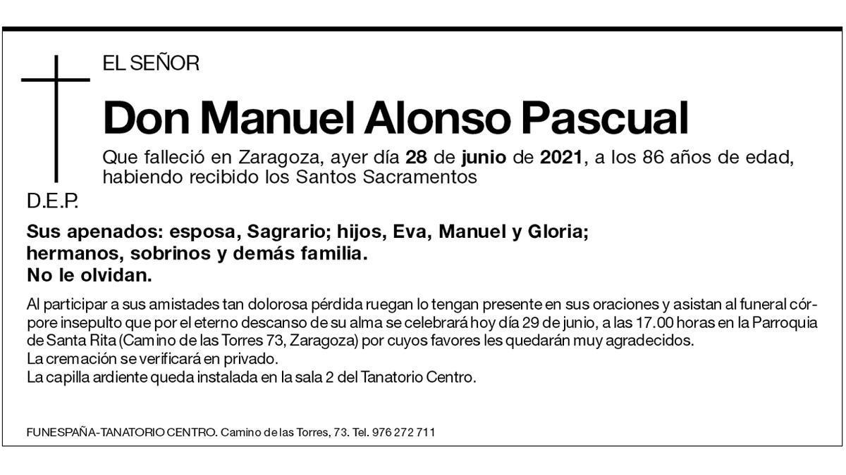 Manuel Alonso Pascual