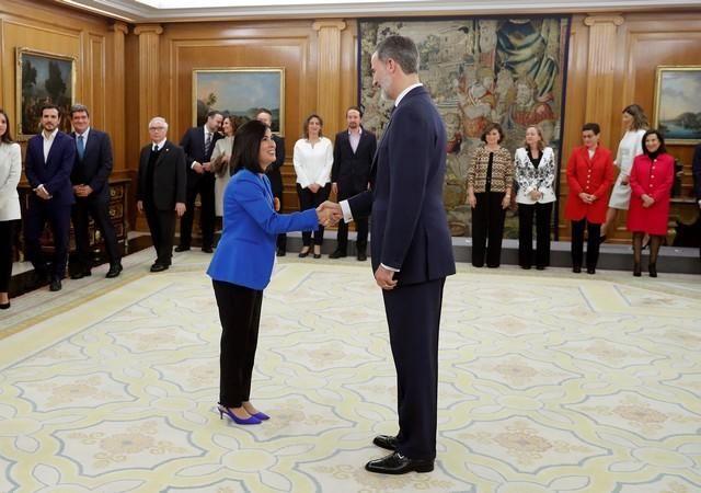 Carolina Darias jura su cargo como nueva ministra