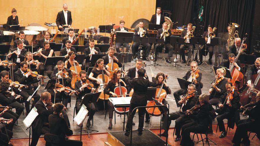 Concierto de la Sociedad Filarmónica de Pontevedra.