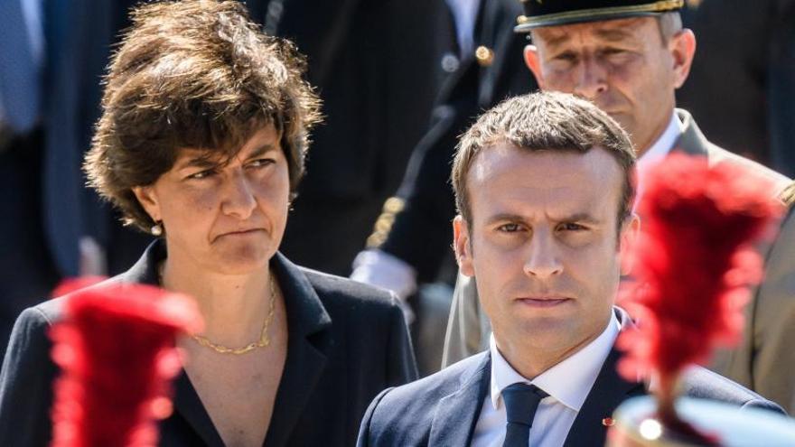 Dimiteix la ministra de Defensa nomenada per Macron
